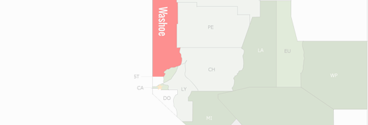 Washoe County Map